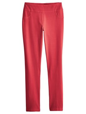 Ruby Rd. Knitted Twill Pants