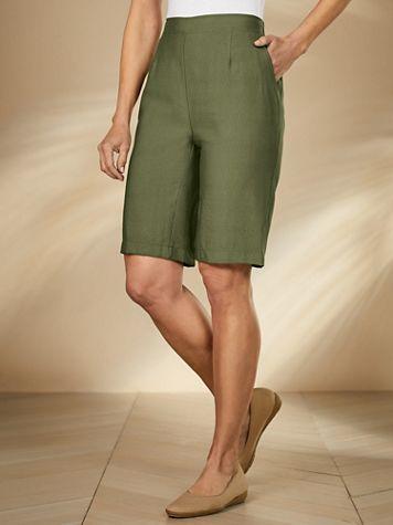 Koret® Look of Linen Shorts - Image 1 of 4