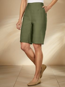 Koret® Look of Linen Shorts