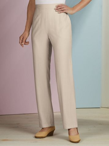 Koret® Look of Linen Pull-On Pants - Image 1 of 4