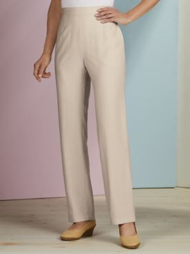 Koret® Look of Linen Pull-On Pants