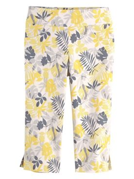 Sunny Side Up Print Clamdiggers by Hearts of Palm