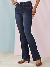 Slimming Bootcut Jeans by Skye's the Limit