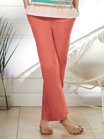 Alfred Dunner® Coastal Drive Proportioned Pants