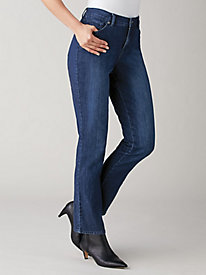 Mid-Rise Rail Straight Jeans by Gloria Vanderbilt®