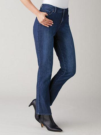 Mid-Rise Rail Straight Jeans by Gloria Vanderbilt®