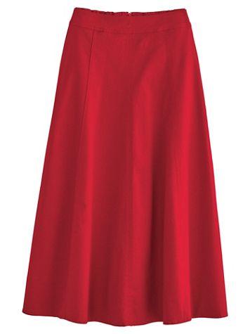 Gored Denim Skirt By Koret® - Image 3 of 3