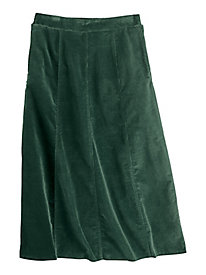 Koret® Gored Corduroy Skirt