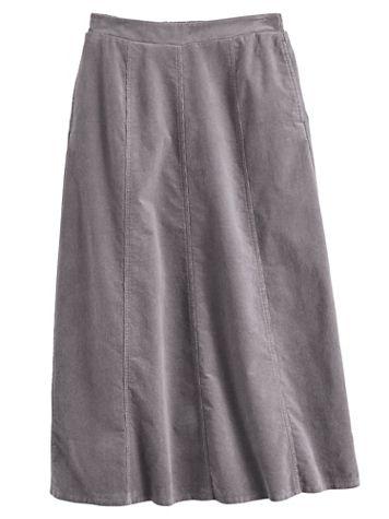 Koret® Gored Corduroy Skirt - Image 2 of 2