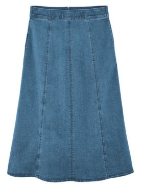 Koret® Gored Denim Skirt