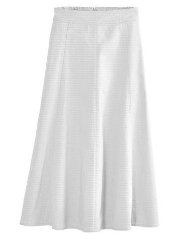 Koret® Gored Denim Skirt - Image 0 of 2