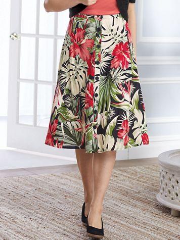 Koret® Fresh Picked Challis Skirt