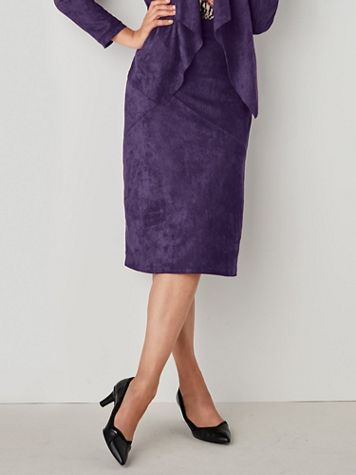 Koret® Sueded Knit Skirt - Image 3 of 3