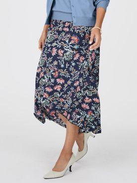 Koret® Ruffle Print Skirt