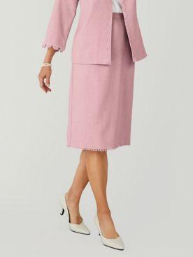 Alfred Dunner® Primrose Garden Lace Trim Skirt