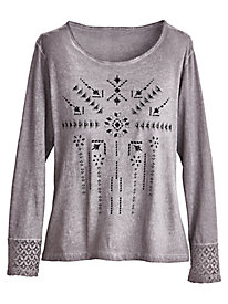 Tribal Tee By Isabel Hayley