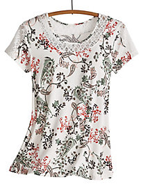 Guadalupe Paisley Swing Top by Emaline