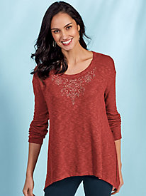 Marlene Knit Top by Gloria Vanderbilt®