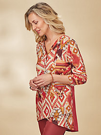 Southwest Blouse By Koret® by Old Pueblo Traders