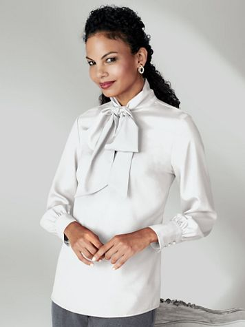 Koret® Bow Blouse - Image 0 of 3