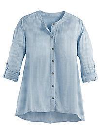 Marlow Dawn Stripe Shirt by Gloria Vanderbilt®