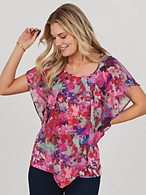 Watercolor Popover Blouse