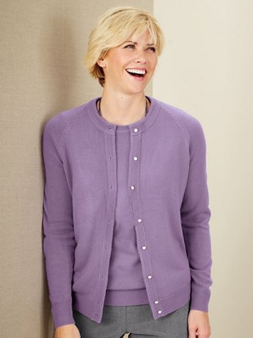 Cashmere-Soft Cardigan Sweater - Image 5 of 6
