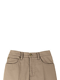 Stretch Jean Skirt