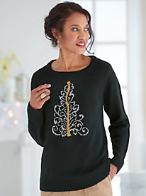 Winter Motif Sweater