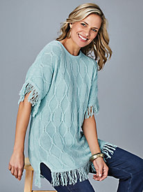 Dolman Fringe Sweater