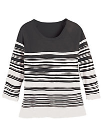 Striped Sweater By Koret®