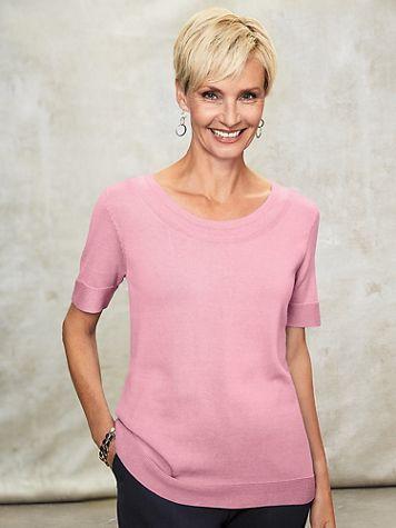 Koret® Short-Sleeve Sweater