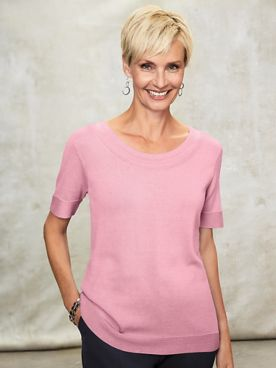 Koret® Short-Sleeve Sweater
