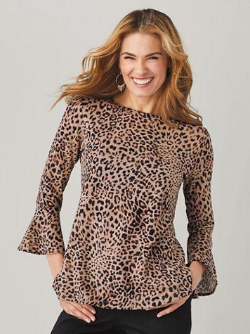 Teresa Printed Sweater by Gloria Vanderbilt®