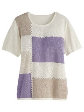 Alfred Dunner® Nantucket Colorblock Sweater
