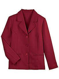 Alfred Dunner Button-Front Blazer