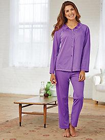 Petals Long-Sleeve Pajamas