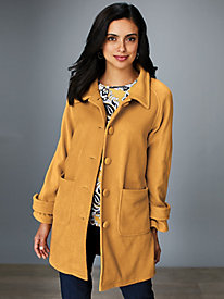 Cozy Fleece Jacket by Serbin Sport® by Old Pueblo Traders