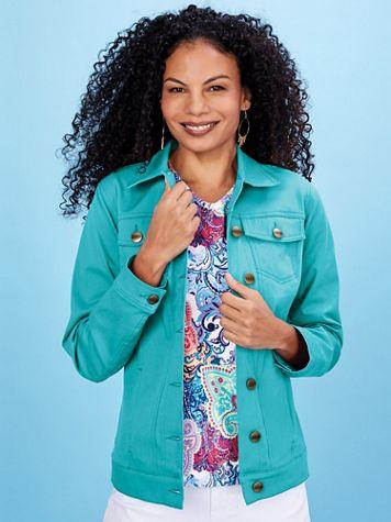 Koret® Stretch Jean Jacket - Image 0 of 5