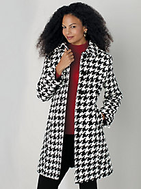 Wool-Blend Walking Coat by Mark Reed