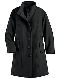 Wool-Blend Pants Coat by Mark Reed