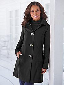 London Fog® Bonded French Twill Coat