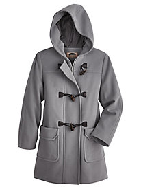 Wool-Blend Toggle Coat By Mark Reed