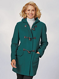 Wool-Blend Toggle Coat By Mark Reed by Old Pueblo Traders