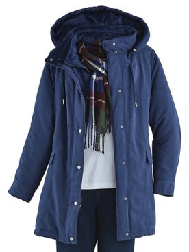 Microfiber Jacket with FREE Scarf by Below Zero®
