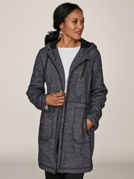 Sherpa-Lined Fleece Anorak by Below Zero®