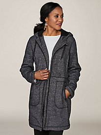 Sherpa-Lined Fleece Anorak by Below Zero® by Old Pueblo Traders