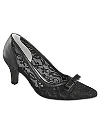 Natalie Style Lace Pumps by Beacon