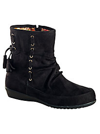 Trixie Faux Suede Scrunch Boots by Beacon®