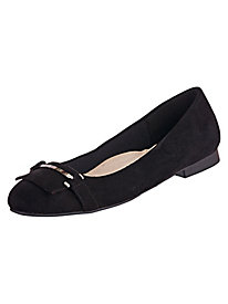 Erin Faux Suede Skimmers By Annie®